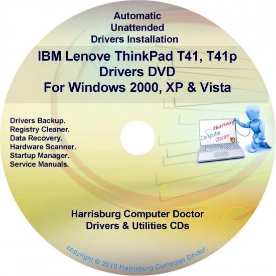 IBM Lenovo ThinkPad T41/T41p Drivers Disc CD/DVD