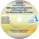 IBM Lenovo ThinkPad SL510 L510 Drivers Disc CD/DVD