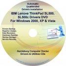 IBM Lenovo ThinkPad SL500 SL500c Drivers Disc CD/DVD