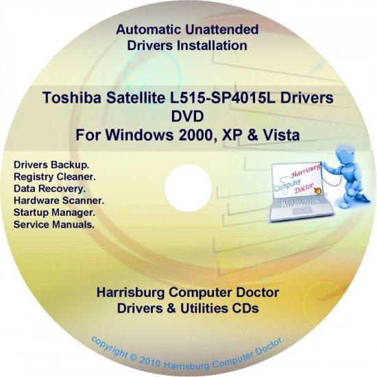 Toshiba Satellite L515-SP4015L Drivers Recovery Restore