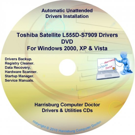 Toshiba Satellite L555D-S7909 Drivers Recovery Restore