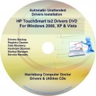 HP TouchSmart tx2 Driver Recovery Disc CD/DVD
