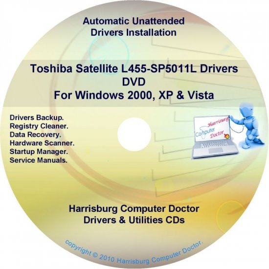 Toshiba Satellite L455-SP5011L Drivers Recovery Restore