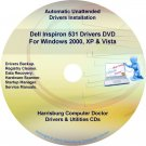 Dell Inspiron 531 Drivers Restore  Disc Disk CD/DVD