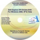 Dell Inspiron 570 Drivers Restore  Disc Disk CD/DVD