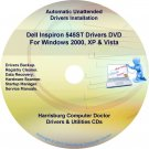 Dell Inspiron 545ST Drivers Restore  Disc Disk CD/DVD
