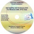 Dell OptiPlex GX115 Drivers Restore  Disc Disk CD/DVD