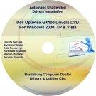 Dell OptiPlex GX100 Drivers Restore  Disc Disk CD/DVD