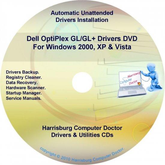 Dell OptiPlex GL/GL+ Drivers Restore  Disc Disk CD/DVD
