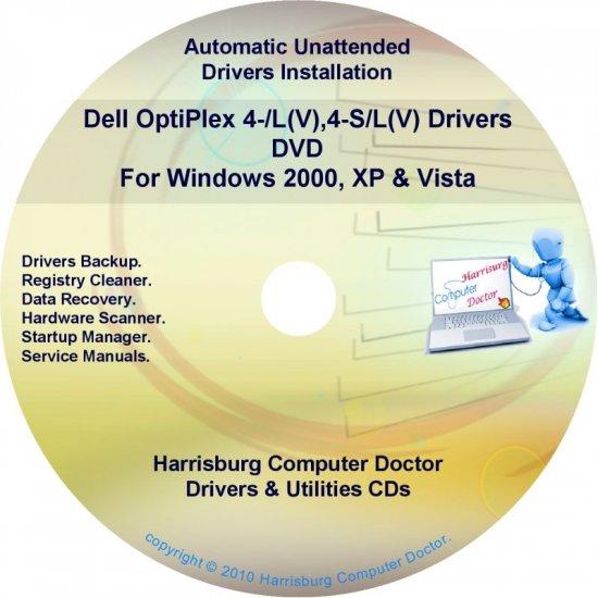 Dell OptiPlex 4-L(V),4-SL(V) Drivers  Disc Disk CD/DVD