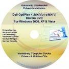 Dell OptiPlex 4-MX(V),4-SMX(V) Drivers Disc Disk CD/DVD