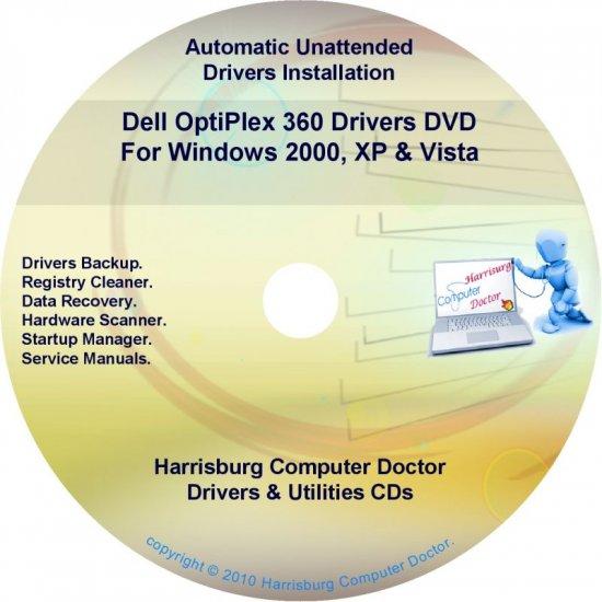 Dell OptiPlex 360 Drivers Restore  Disc Disk CD/DVD