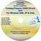 Compaq Presario V2000 Drivers Restore HP Disc CD/DVD