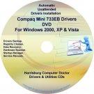 Compaq Mini 733EB Drivers Restore HP Disc Disk CD/DVD