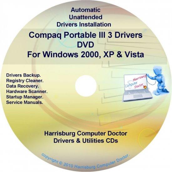 Compaq Portable III 3 Drivers Restore HP Disc CD/DVD