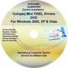 Compaq Mini 705EL Drivers Restore HP Disc Disk CD/DVD