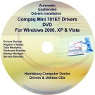 Compaq Mini 701ET Drivers Restore HP Disc Disk CD/DVD