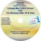 Compaq Mini 702EG Drivers Restore HP Disc Disk CD/DVD