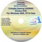 Compaq Gaming GX5000Z Drivers Restore HP Disc CD/DVD