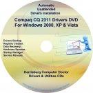 Compaq CQ2311 Drivers Restore HP Disc Disk CD/DVD