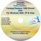 Compaq Deskpro 1000 Drivers Restore HP Disc Disk CD/DVD