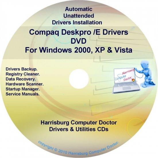 Compaq Deskpro /E Drivers Restore HP Disc Disk CD/DVD