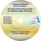 HP Vectra 574 PC Driver Recovery Restore Disc CD/DVD