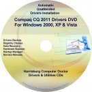 Compaq CQ2011 Drivers Restore HP Disc Disk CD/DVD