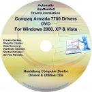 Compaq Armada 7700 Drivers Restore HP Disc Disk CD/DVD