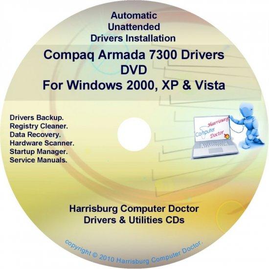 Compaq Armada 7300 Drivers Restore HP Disc Disk CD/DVD