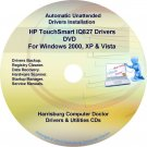HP TouchSmart IQ827 Driver Recovery Disc CD/DVD