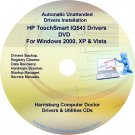 HP TouchSmart IQ543 Driver Recovery Disc CD/DVD