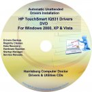 HP TouchSmart IQ531 Driver Recovery Disc CD/DVD