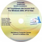 HP TouchSmart 300 Driver Recovery Disc CD/DVD