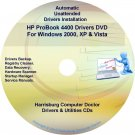 HP ProBook 4400 Driver Recovery Restore Disc CD/DVD