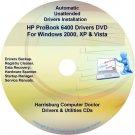 HP ProBook 6400 Driver Recovery Restore Disc CD/DVD
