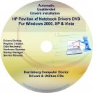 HP Pavilion xf Notebook Driver Recovery Disc CD/DVD