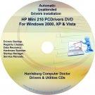 HP Mini 210 PC Driver Recovery Restore Disc CD/DVD