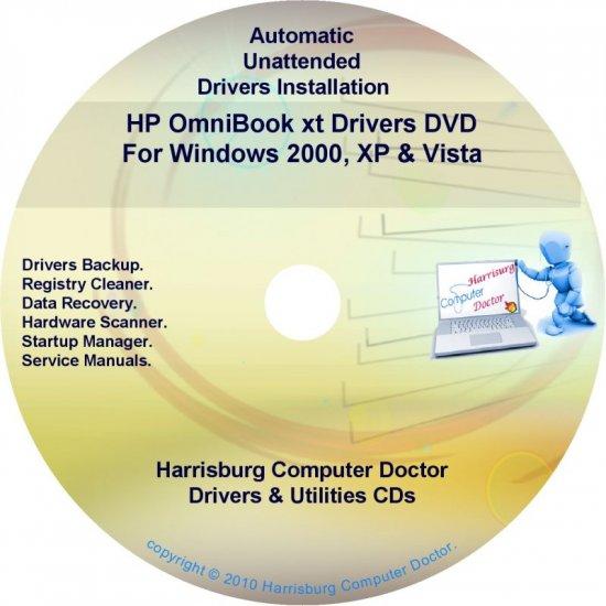 HP OmniBook xt Driver Recovery Disc CD/DVD