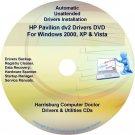 HP Pavilion dv2000 Driver Recovery Disc CD/DVD