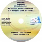 HP Pavilion dv1000 Driver Recovery Disc CD/DVD