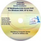HP Multimedia 6100 Driver Recovery Restore Disc CD/DVD