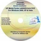 HP Media Center m8000 Driver Recovery Disc CD/DVD