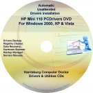 HP Mini 110 PC Driver Recovery Restore Disc CD/DVD