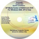 HP Media Center m7000 Driver Recovery Disc CD/DVD