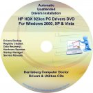 HP HDX 923cn PC Driver Recovery Restore Disc CD/DVD