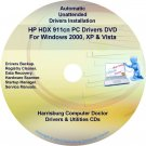 HP HDX 911cn PC Driver Recovery Restore Disc CD/DVD