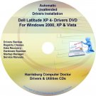 DELL Latitude XP 4 Driver Recovery Restore Disc CD/DVD