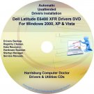DELL Latitude E6400 XFR Driver Recovery Disc CD/DVD