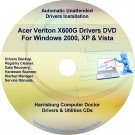 Acer Veriton X600G Drivers Restore Recovery CD/DVD